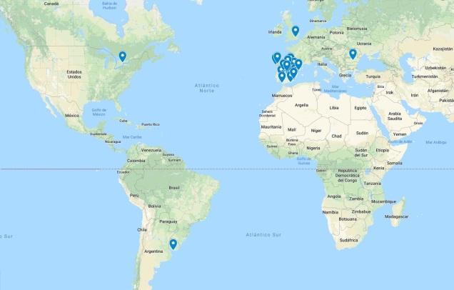 ¡Súmate a los habitantes del Otro Mundo! Si posees un ejemplar, añade tu marca en el mapa.