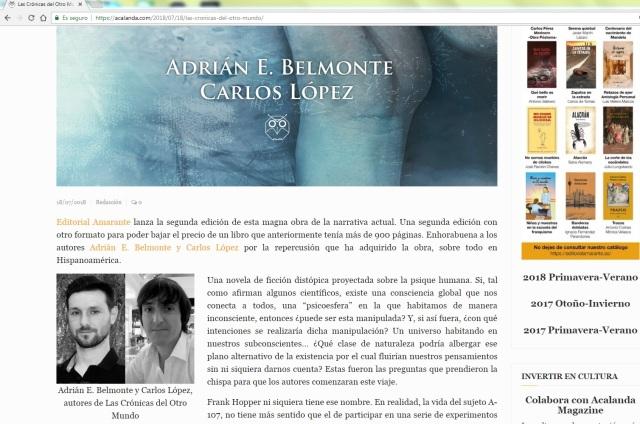 Acalanda feat. LCDOM 2a edición