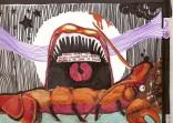La gamba peluxil contra las matanzas, by Luna