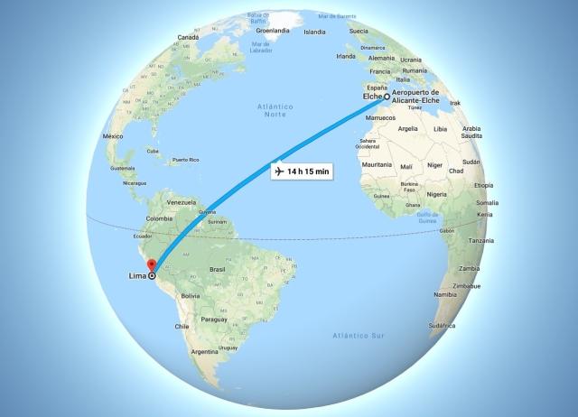 De aquí a Lima